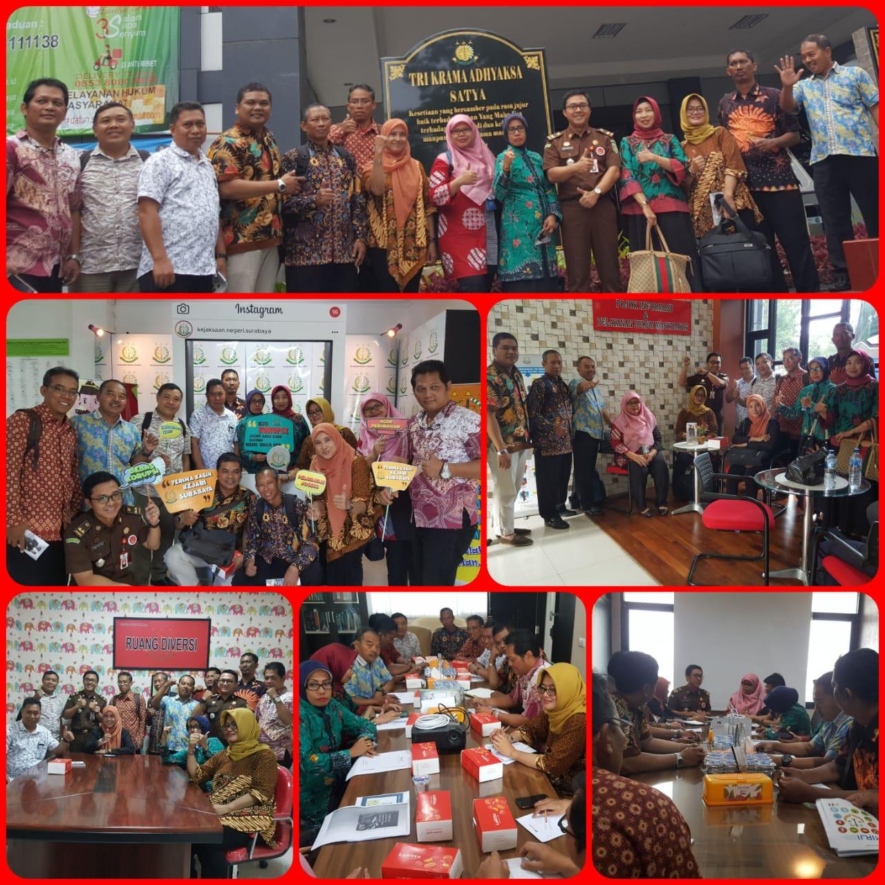 Kunjungan Diklat Terpadu SPPA Di Kejaksaan Negeri Surabaya 27-11-2018