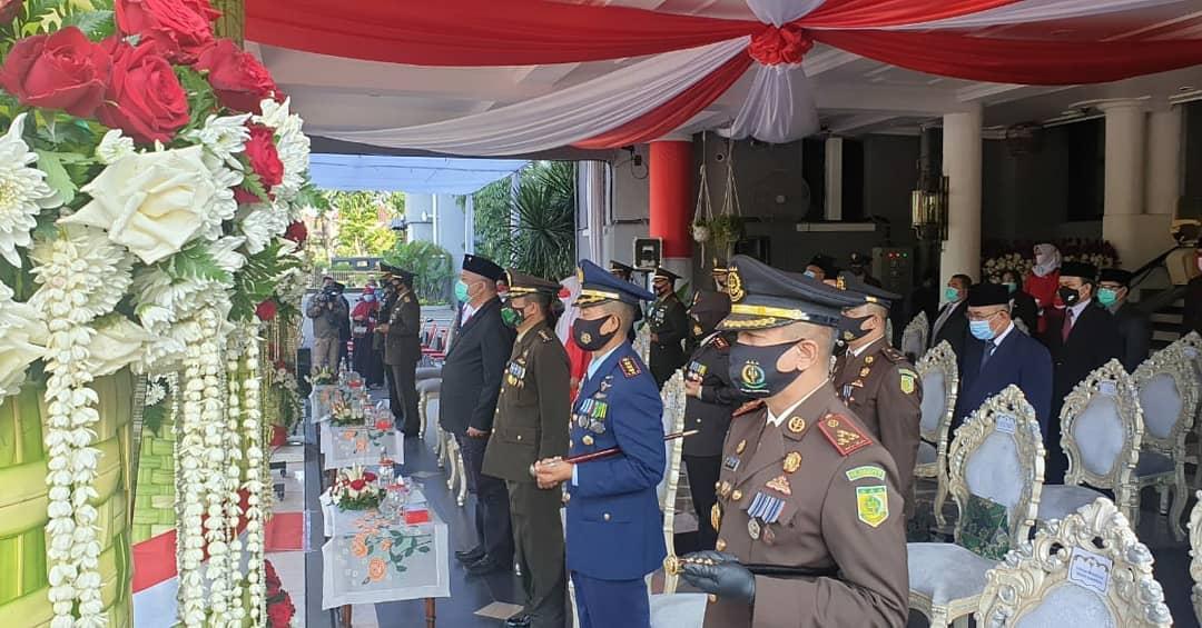 Upacara Peringatan Hari Kemerdekaan Republik Indonesia Ke-75, 17-08-2020