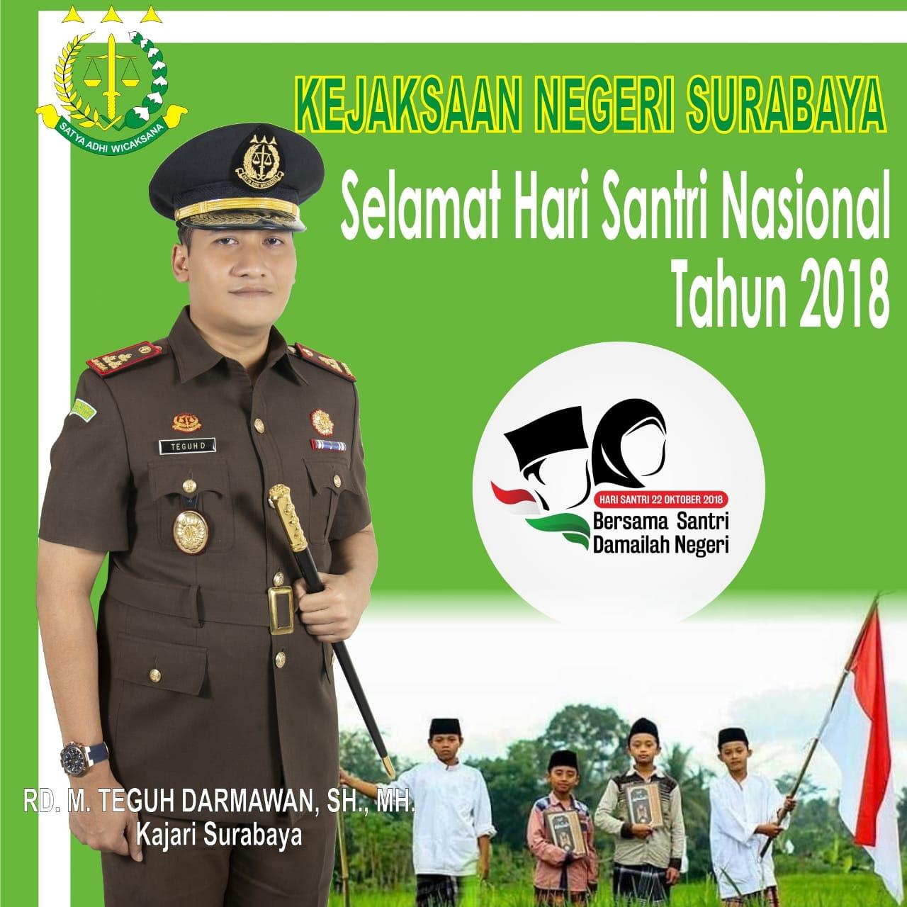 Selamat Hari Santri Nasional 22-10-2018