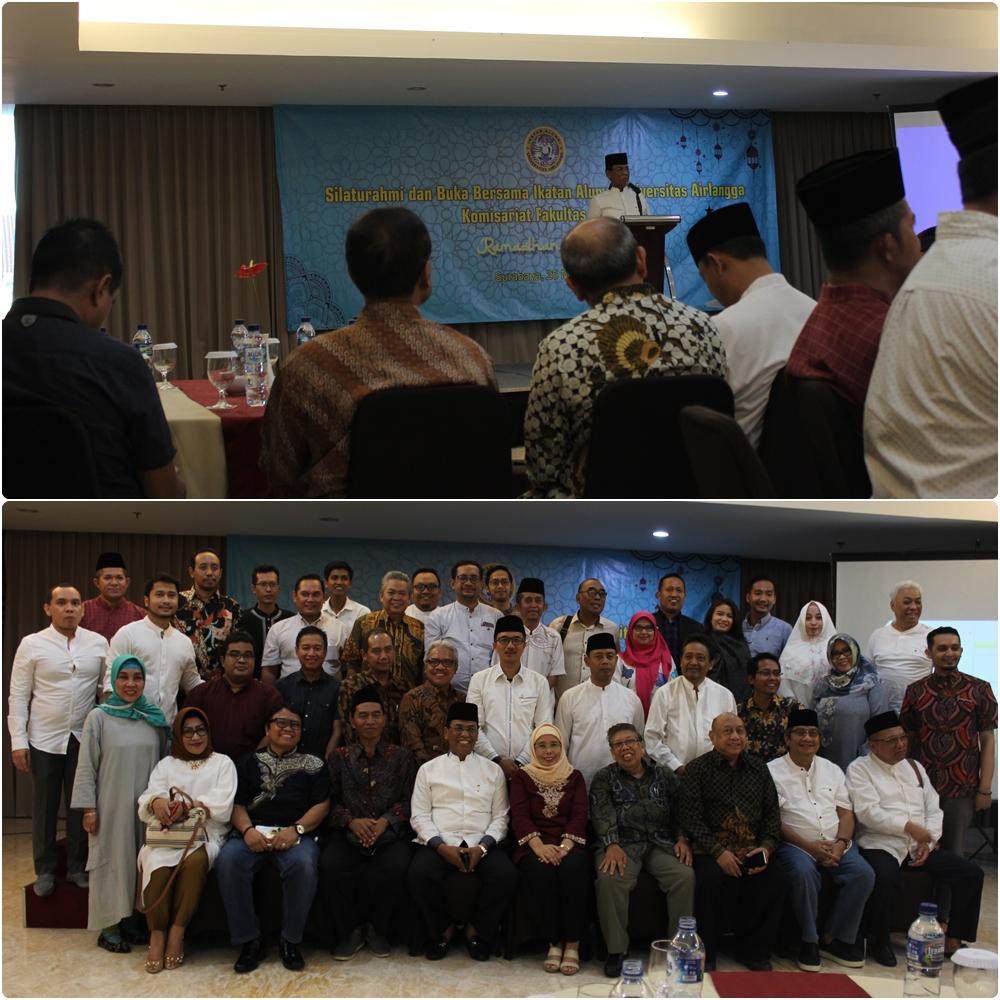 Silaturahmi dan Buka Bersama Ikatan Alumni Universitas Airlangga Komisariat Fakultas Hukum 25-05-2019