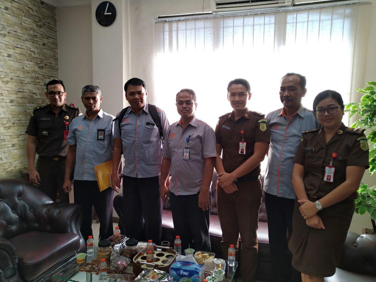 Kujungan Perwakilan dari Kantor Pos Indonesia 12-06-2019