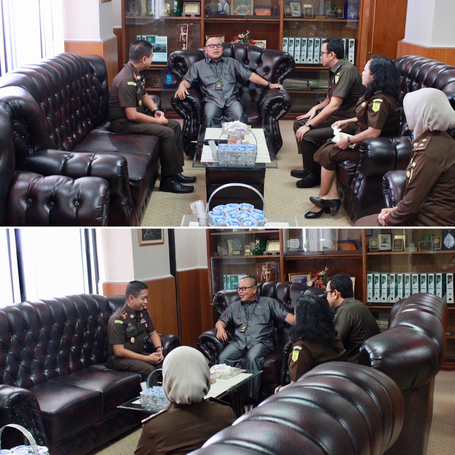 Silaturrahmi dengan Ketua Pengadilan Negeri Surabaya 21-05-2019