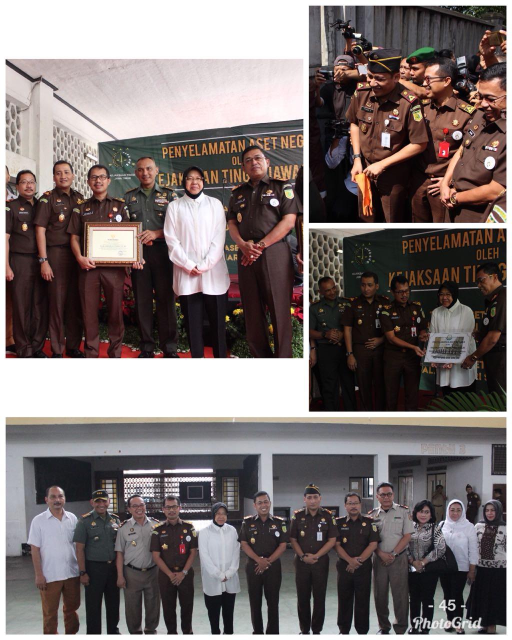 Penyelamatan Aset Kota Surabaya Oleh Kejaksaan