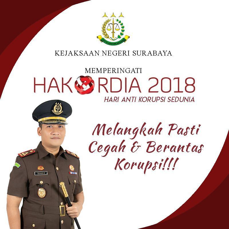 PERINGATAN HARI ANTI KORUPSI SEDUNIA 09-12-2018