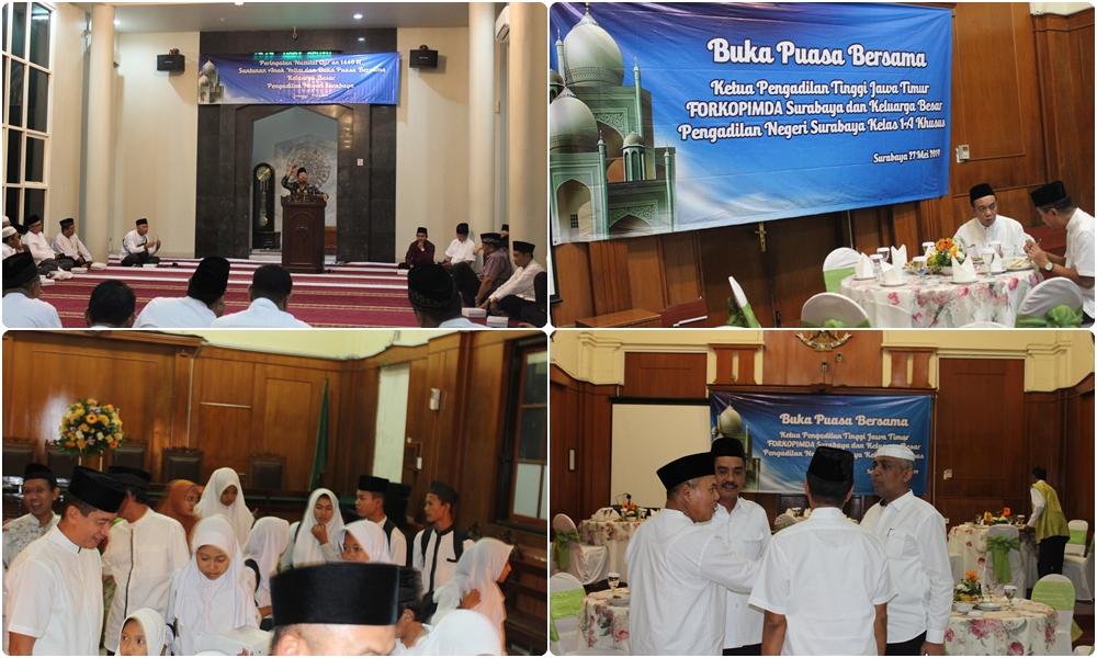 Buka Bersama di Pengadilan Negeri Surabaya 27-05-2019
