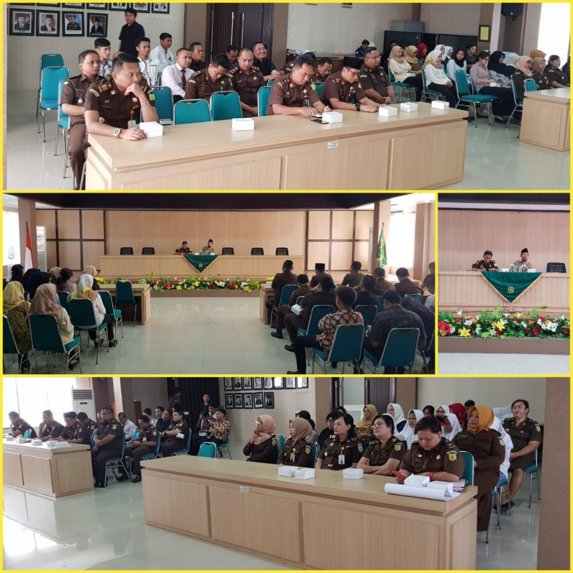 Siraman Rohani Rutin Kejari Surabaya 07-01-2019
