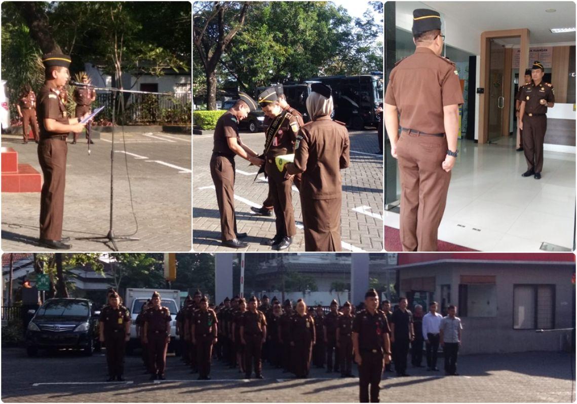 Apel Peringatan Hari Ulang Tahun Persatuan Jaksa Indonesia ke-26 Tahun 2019  17-06-2019