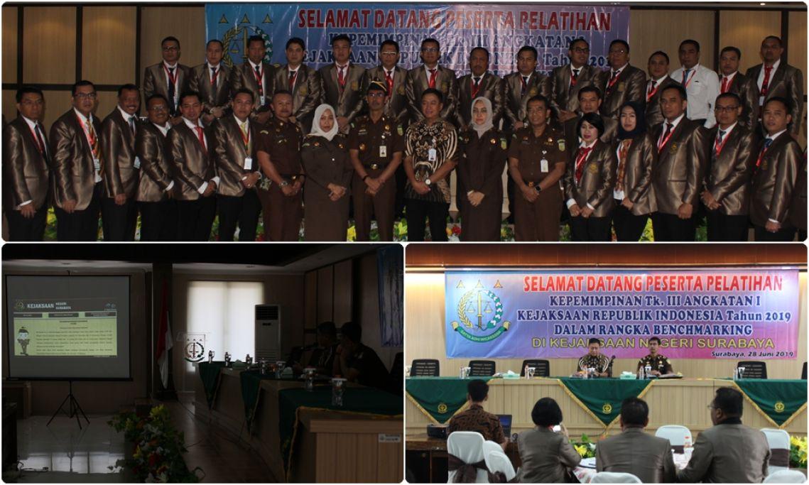 Kunjungan peserta pelatihan Kepimpinan Tk III Angkatan I kejaksaan Republik Indonesia Tahun 2019 28-06-2019