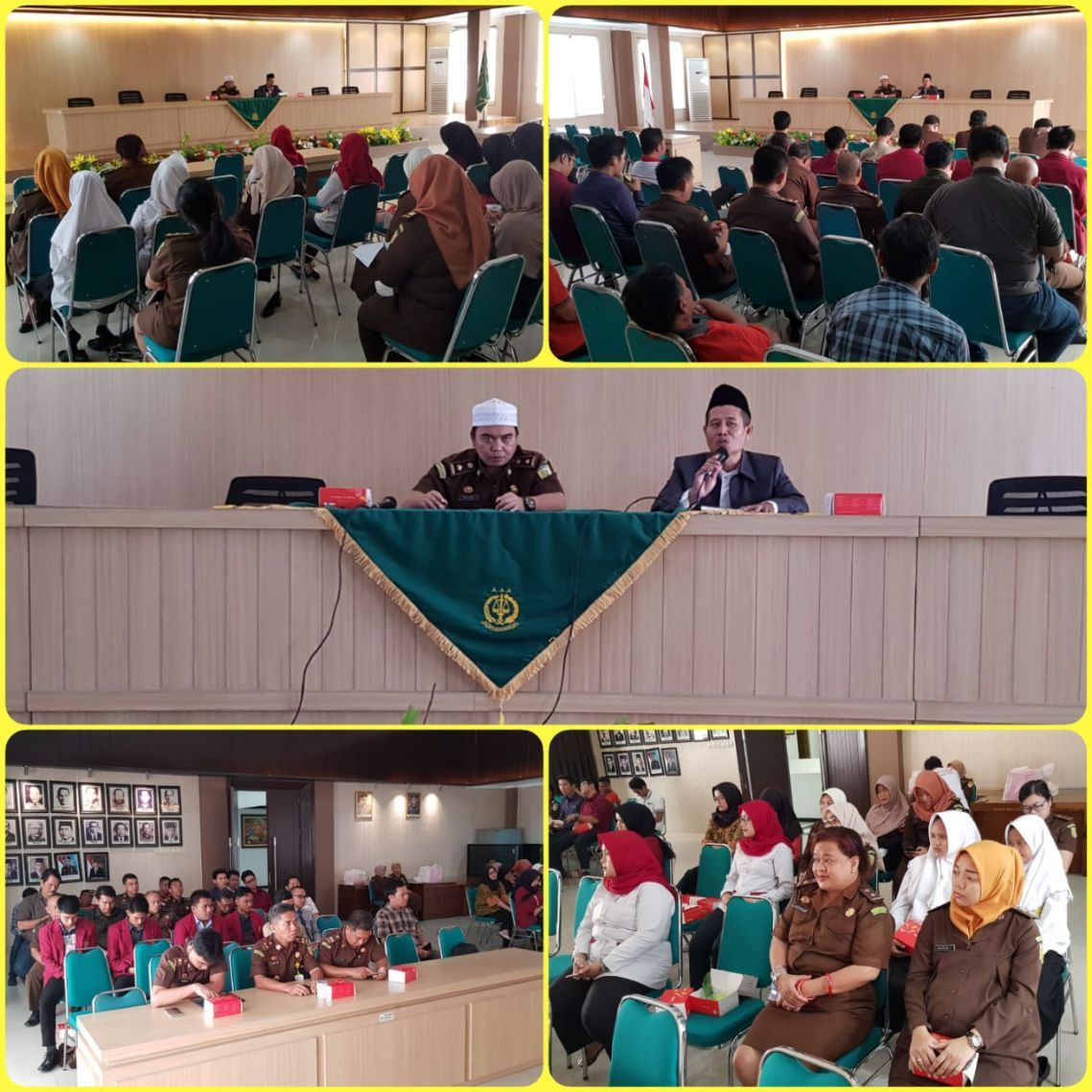 Siraman Rohani Rutin Kejari Surabaya 06-02-2019