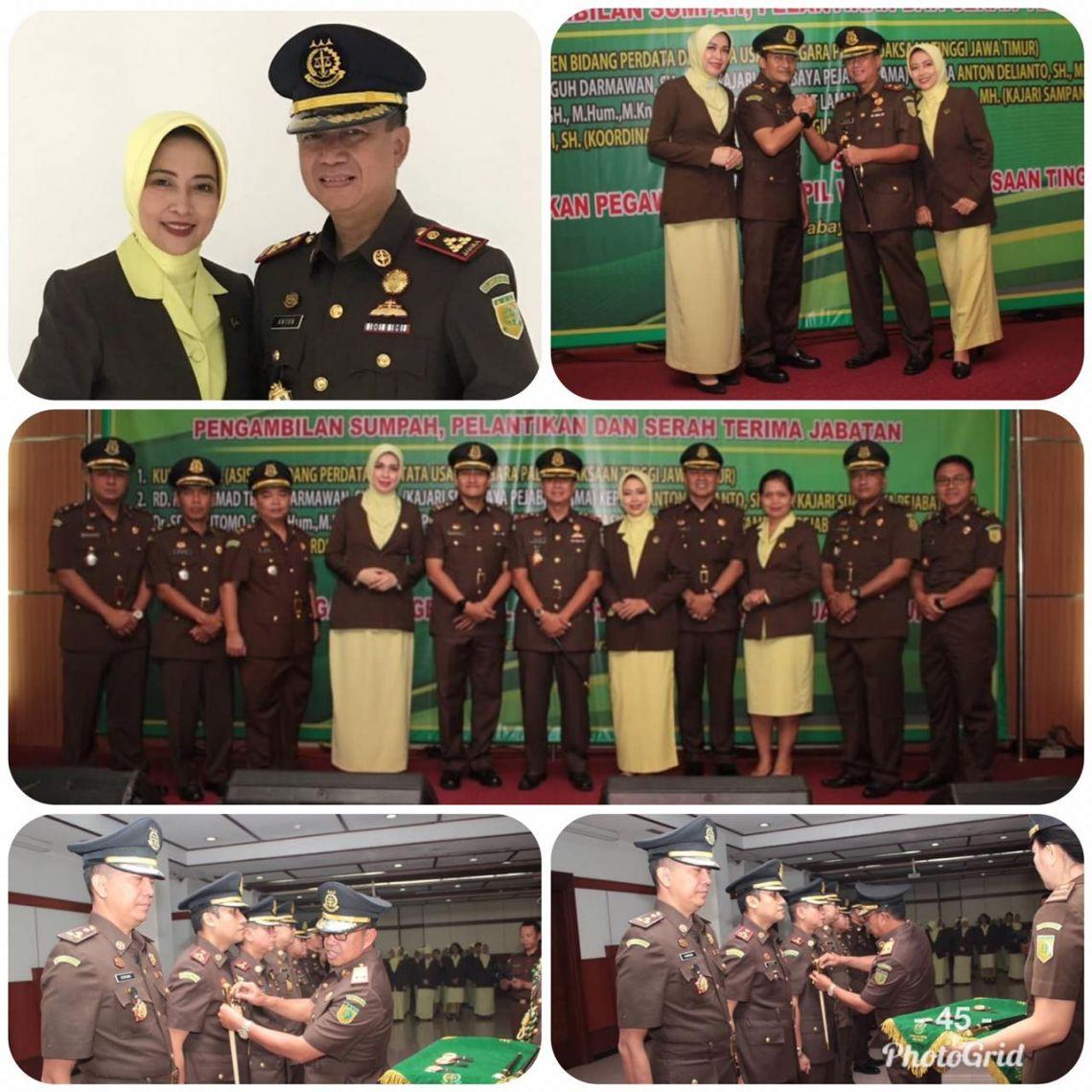 Serah Terima Jabatan Kepala Kejaksaan Negeri Surabaya 24-04-2019