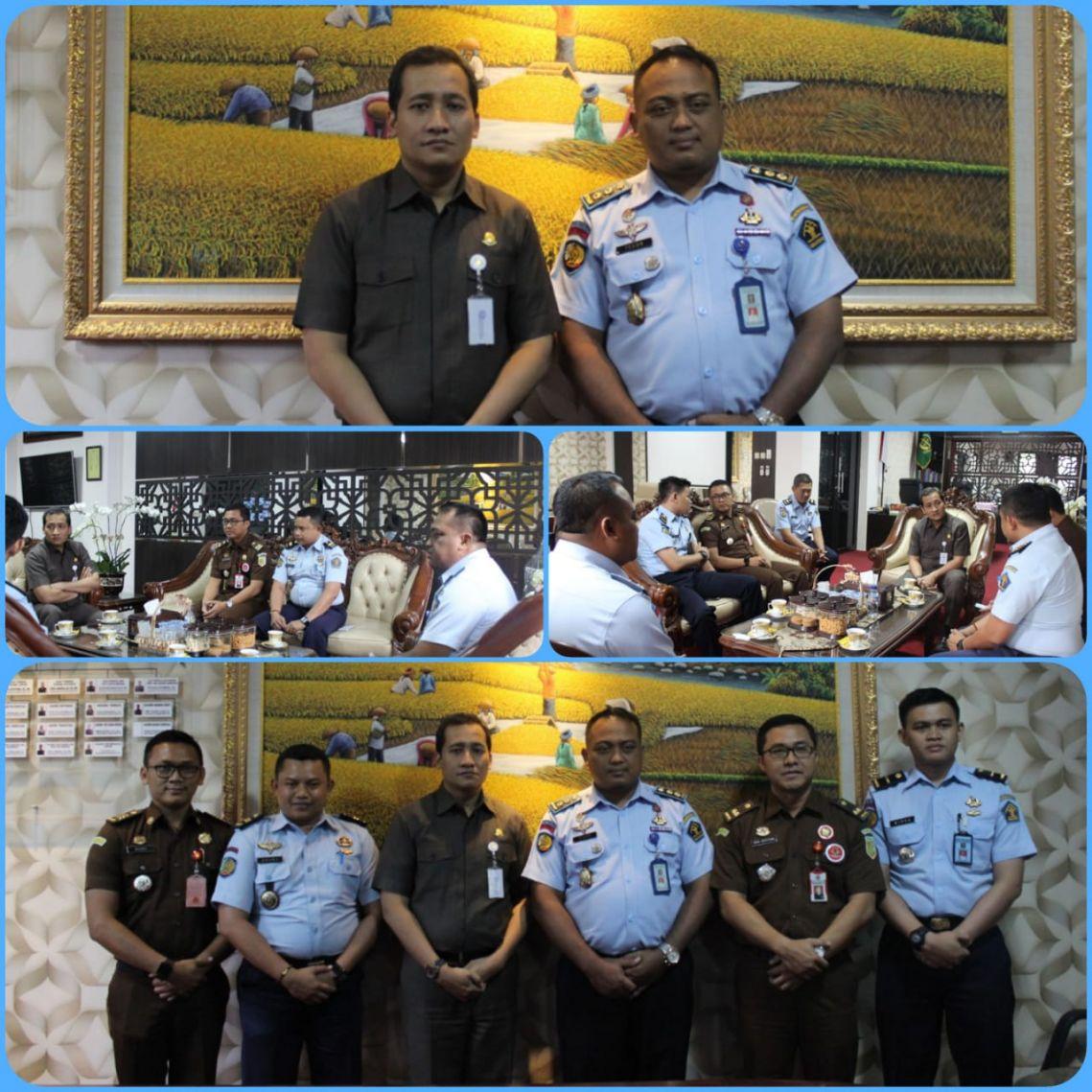 Silaturahmi Karutan Medaeng Ke Kantor Kejaksaan Negeri Surabaya 17-09-2018