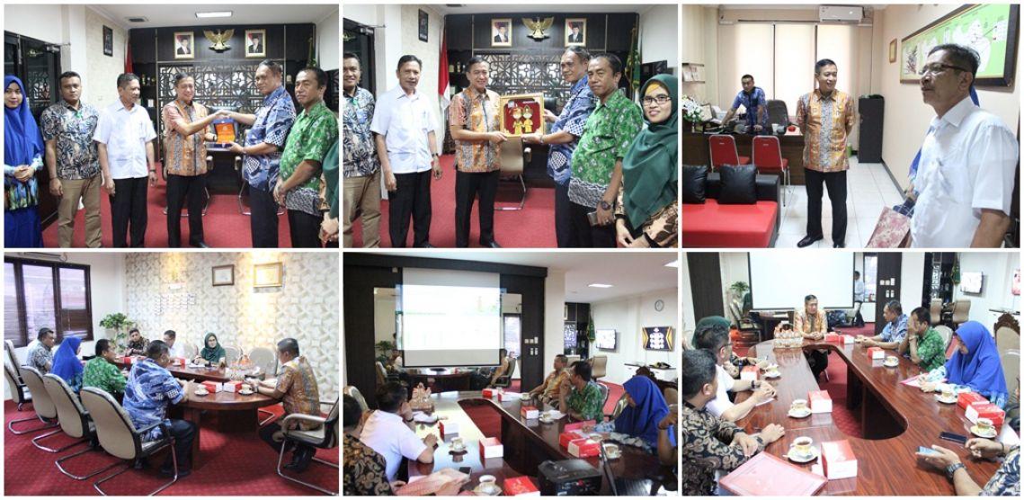 Kunjungan Kerja Tim TP4D dan Inspektorat dari Daerah Gorontalo,18-10-2019