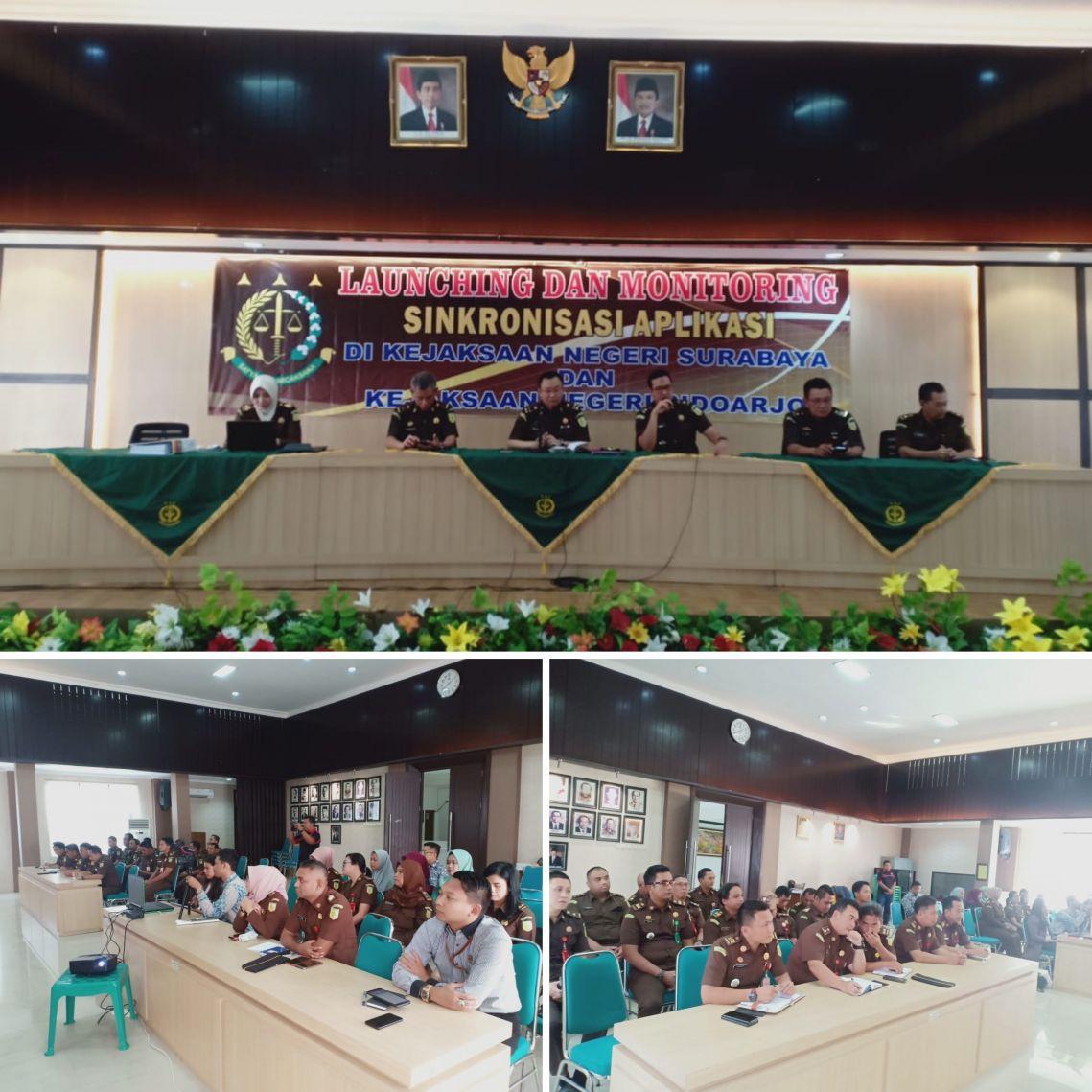 Kunjungan Inspektur Narkotika dan Zat Adiktif Lainnya dari Kejaksaan Agung RI di Kejari Surabaya 13-05-2019