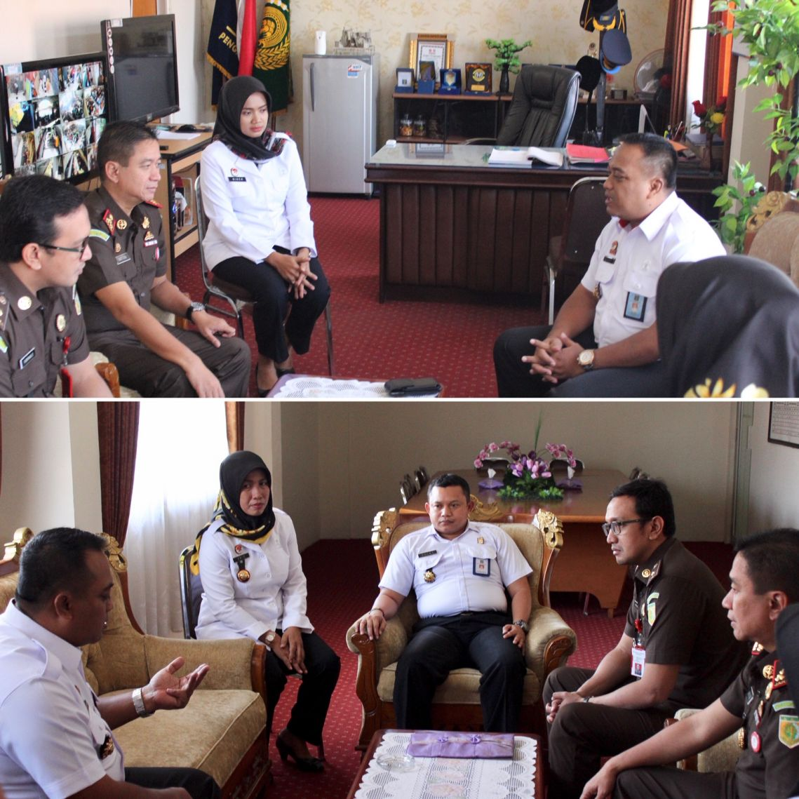 Silaturrahmi dengan Kepala Rutan Kelas I Medaeng Surabaya 22-05-2019