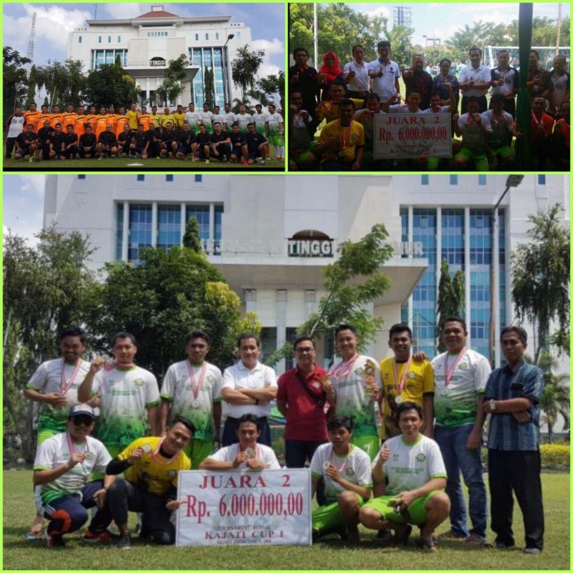 Kejari Surabaya Juara 2 Kajati Cup  2018