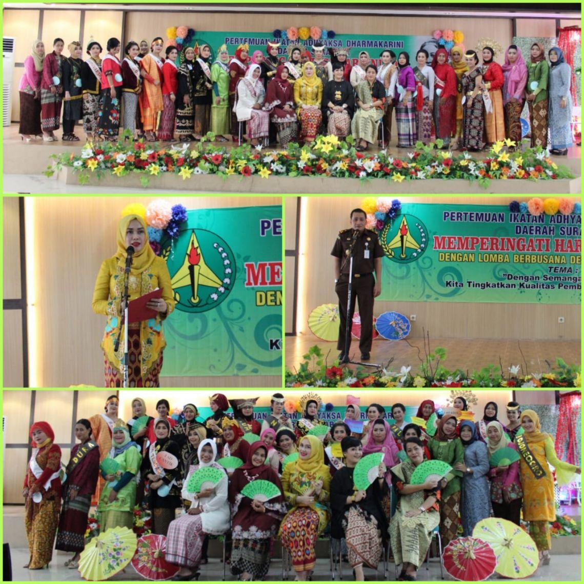 Lomba Busana Daerah Dalam Rangka Memperingati Hari Kartini 24-04-2018