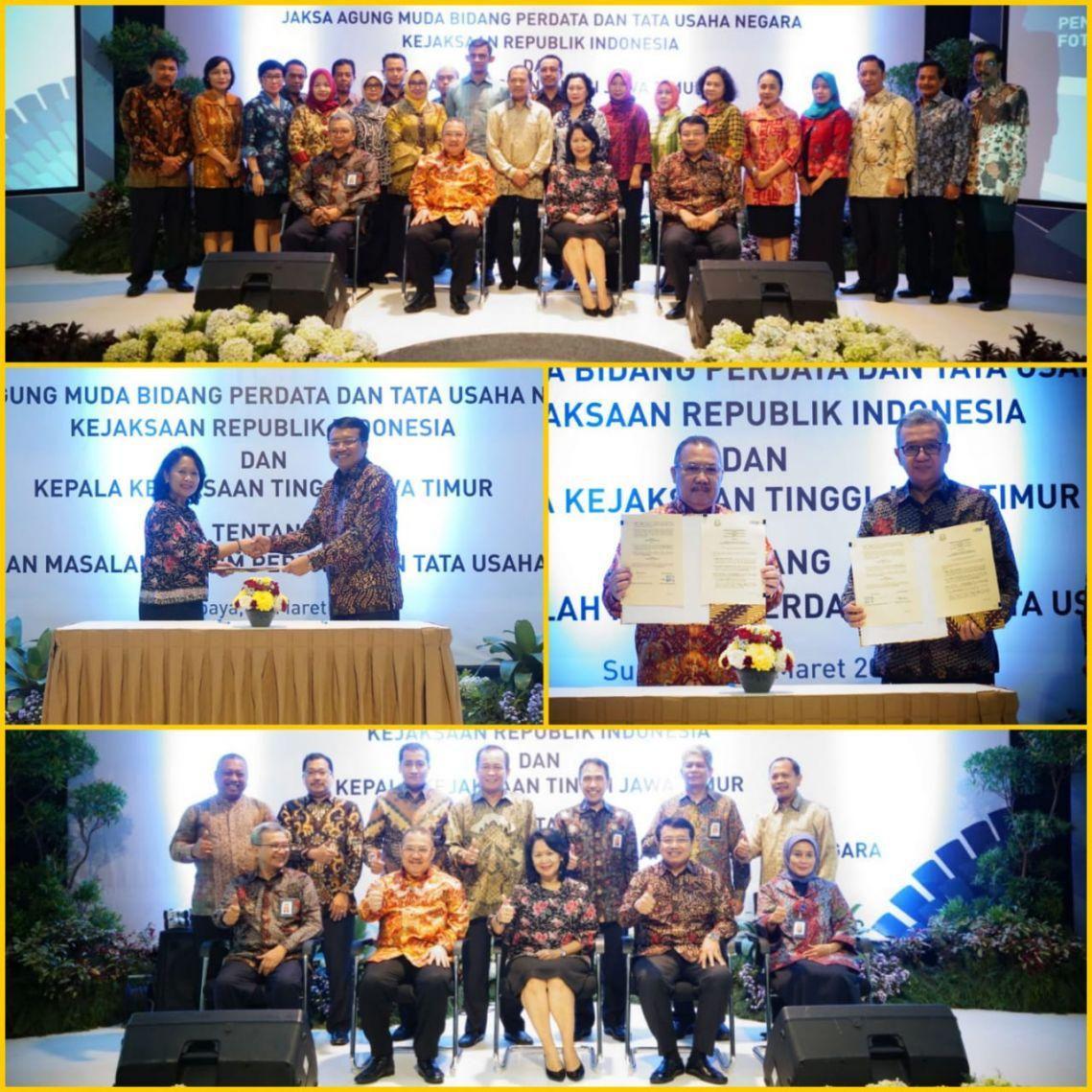Penanda Tanganan Kesepakatan Bersama PT. Pembangkitan Jawa Bali 02-03-2018