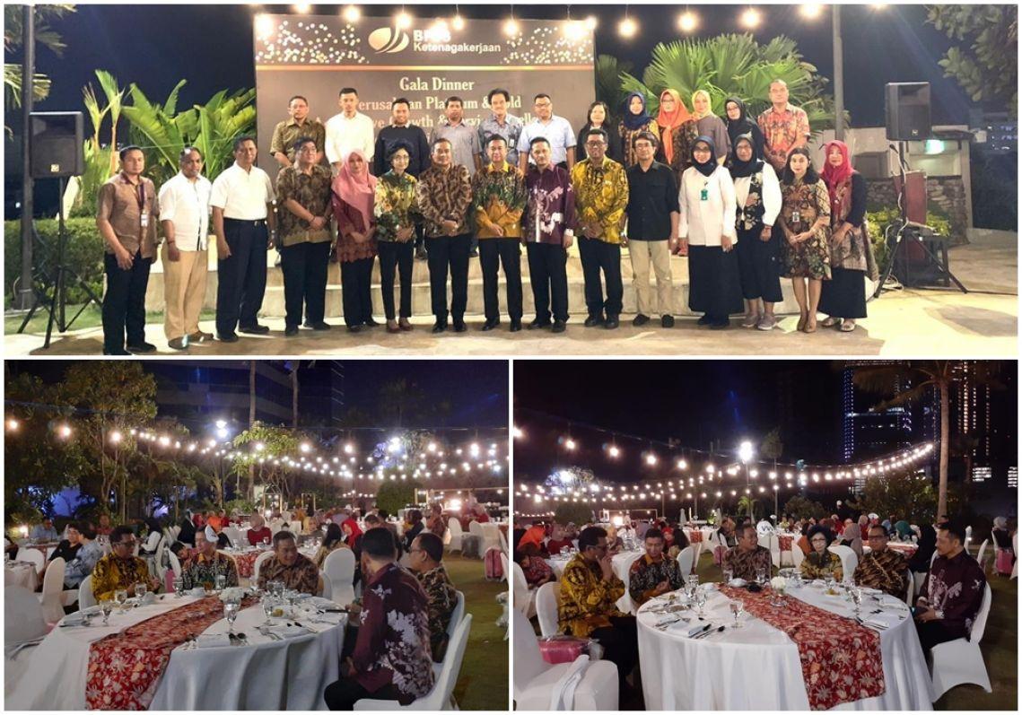 Gathering perusahan BPJS Ketenagakerjaan Cabang Surabaya Rungkut, 23-10-2019
