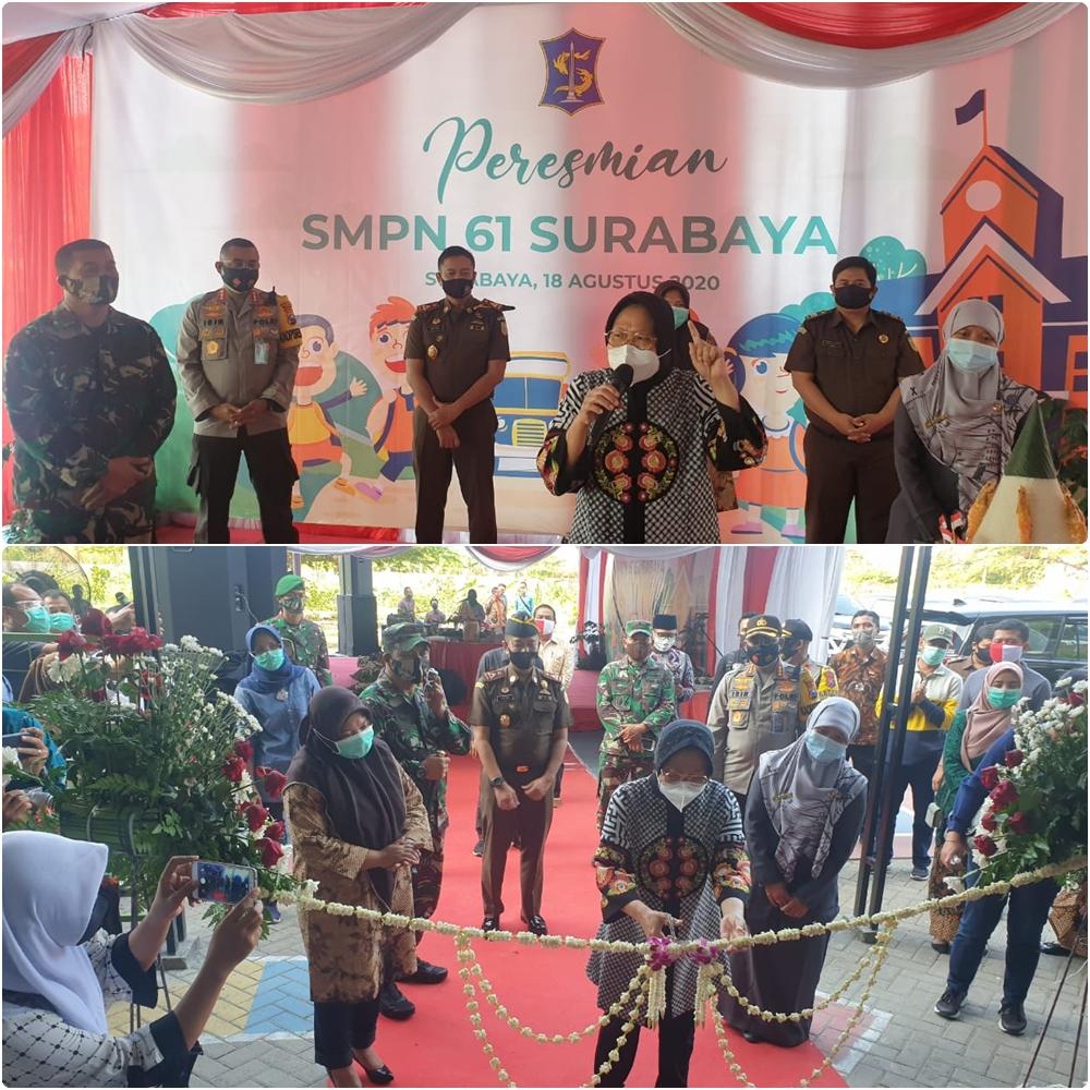 Peresmian SMP Negeri 61 Surabaya