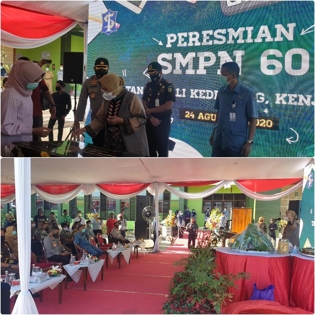 Peresmian SMPN 60 Surabaya 24-08-20