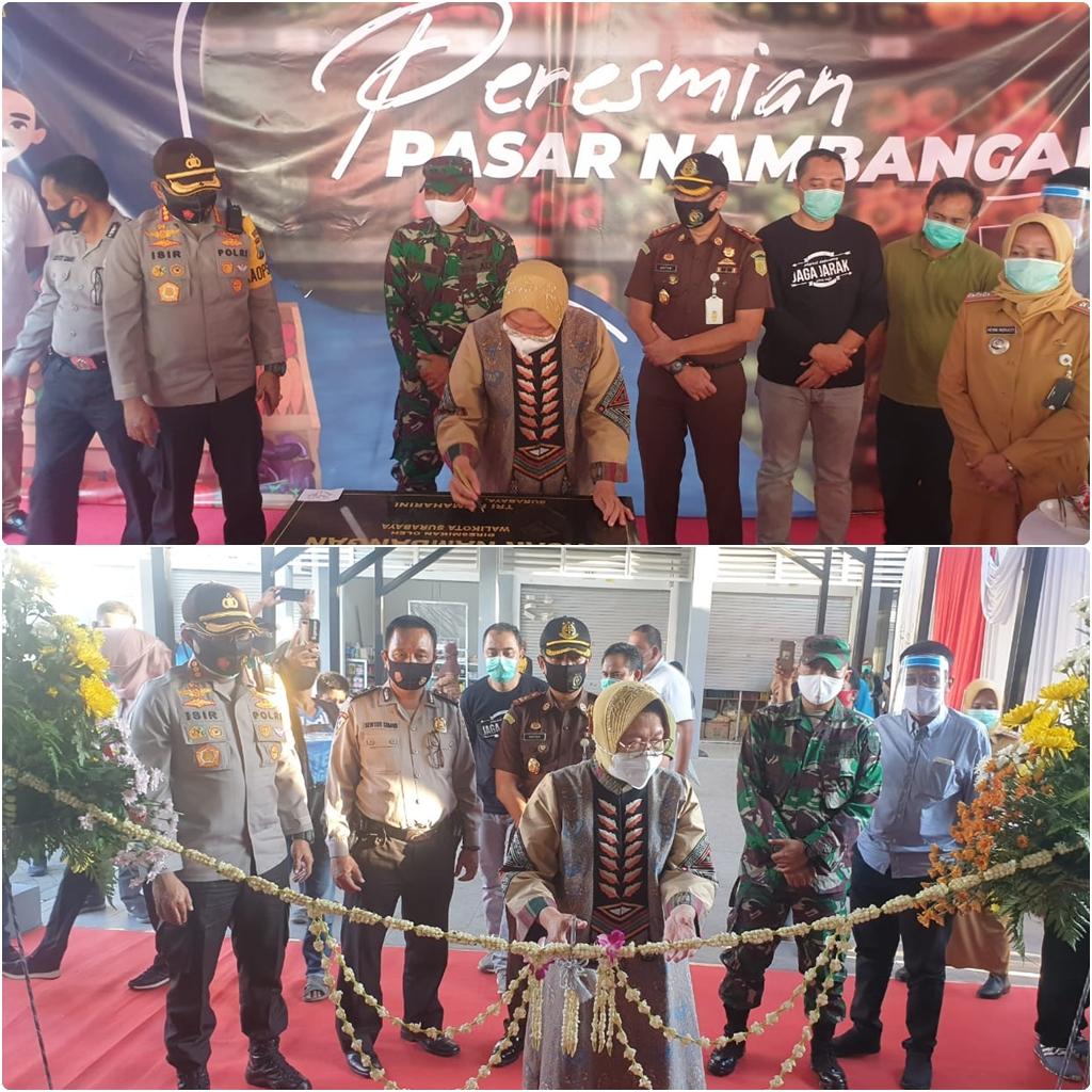 Peresmian Pasar Nambangan 24-08-20