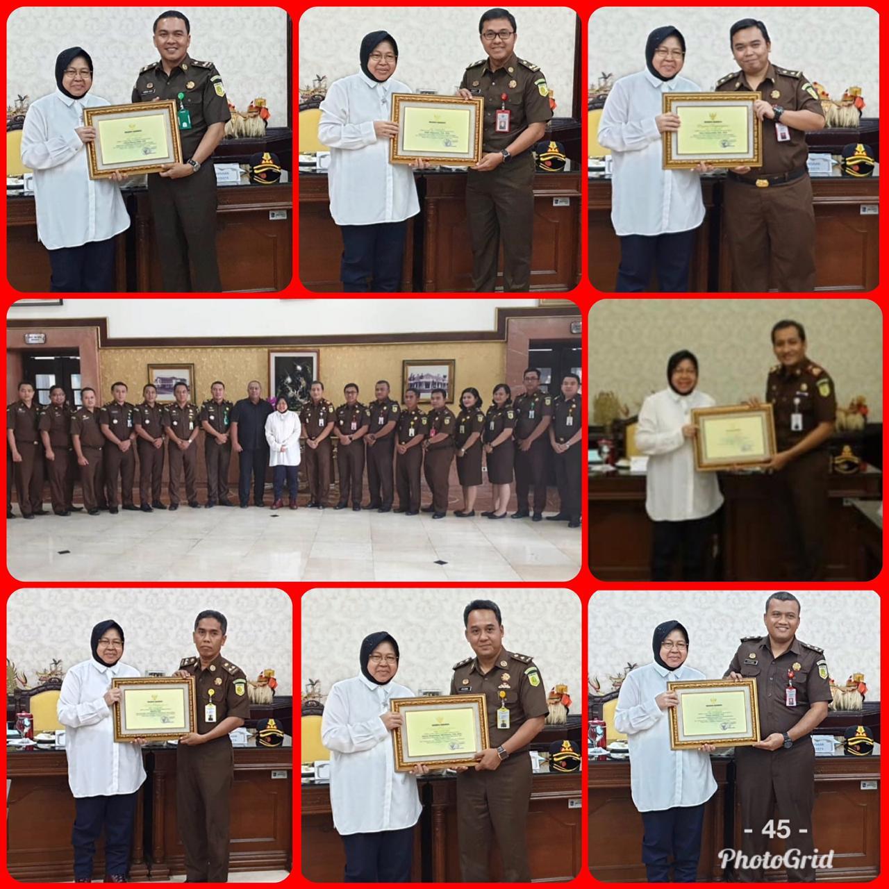 Penghargaan Walikota Surabaya 11-02-2019