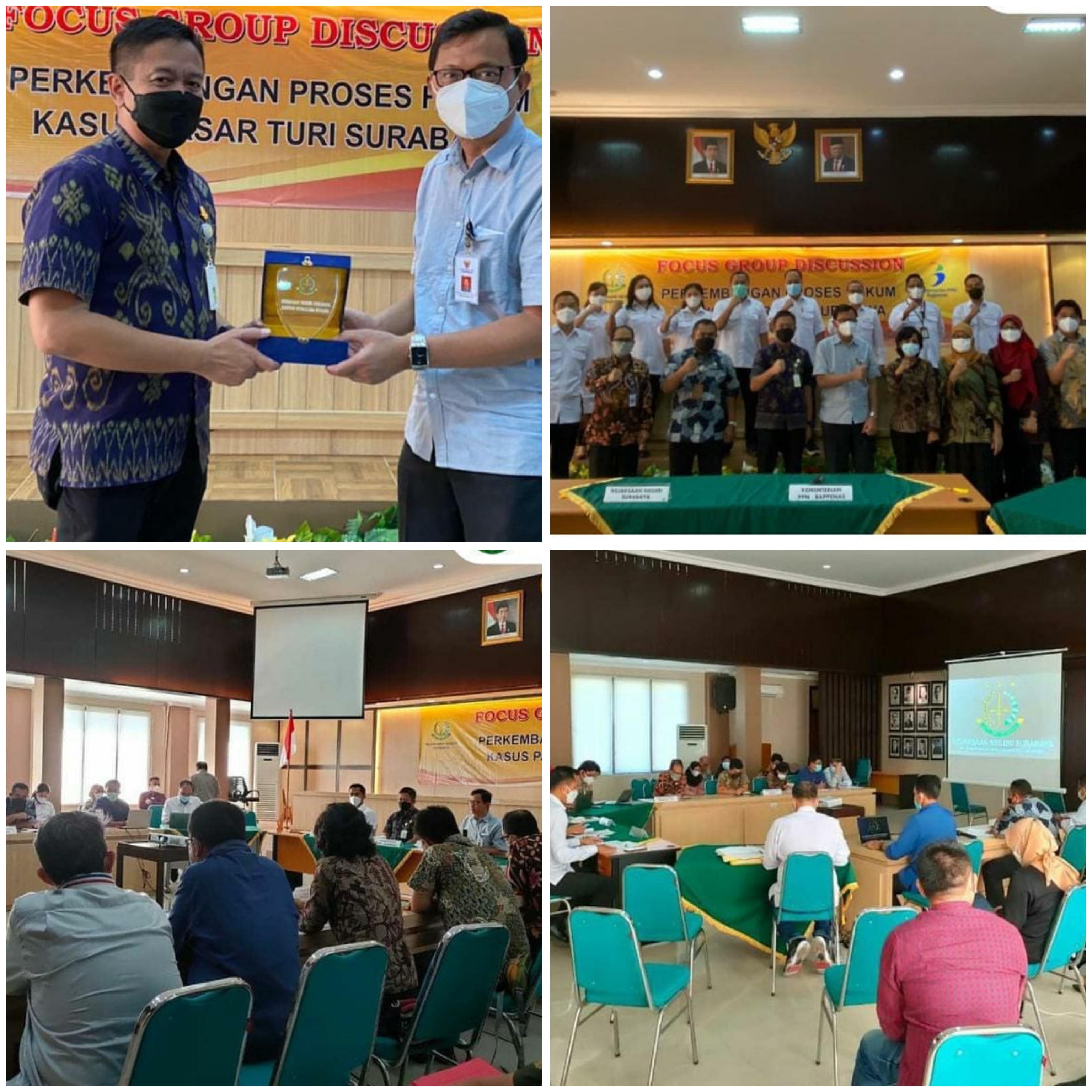 Kunjungan audensi Deputi Hukum dan Regulasi Kementerian PPN/Bappenas 16-04-2021