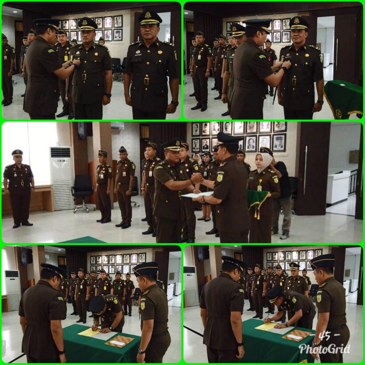 Serah Terima Jabatan Kasiintel Surabaya 22-04-2019