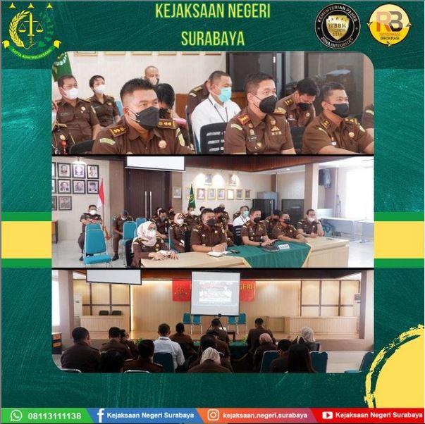 Pengarahan Kepala Kejaksaan Tinggi Jawa Timur
