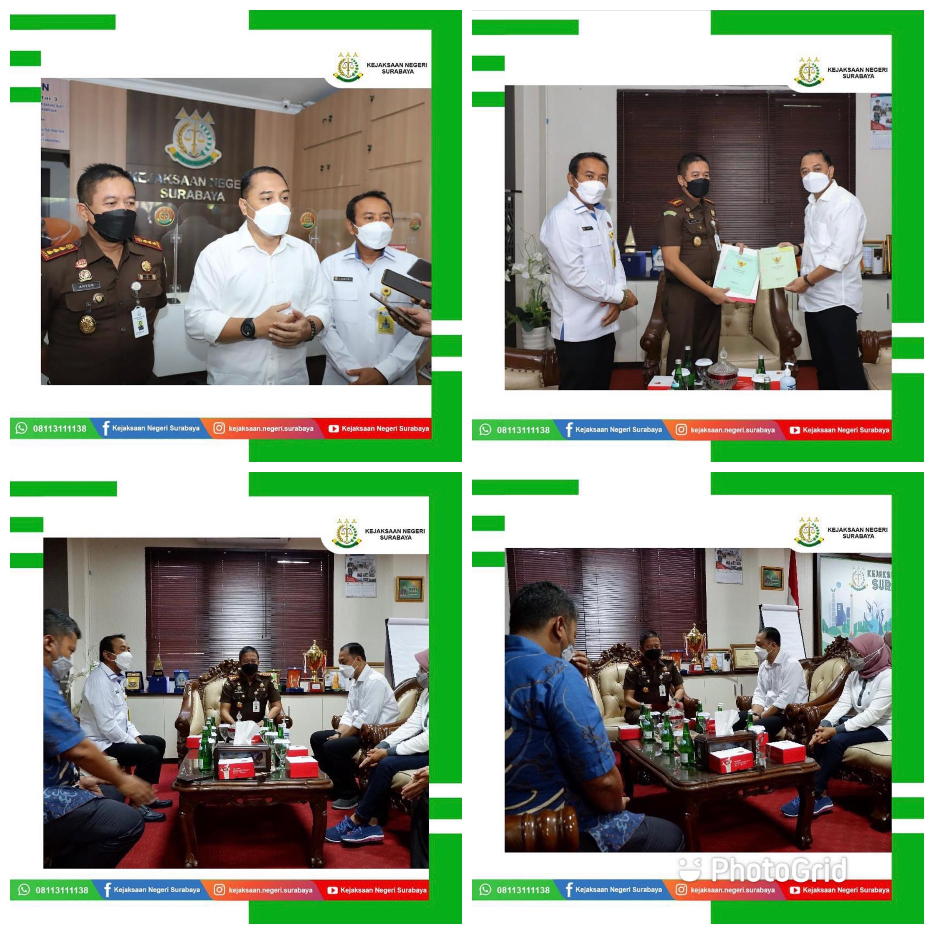 Penyerahan Aset Pemkot Surabaya 05-03-2021