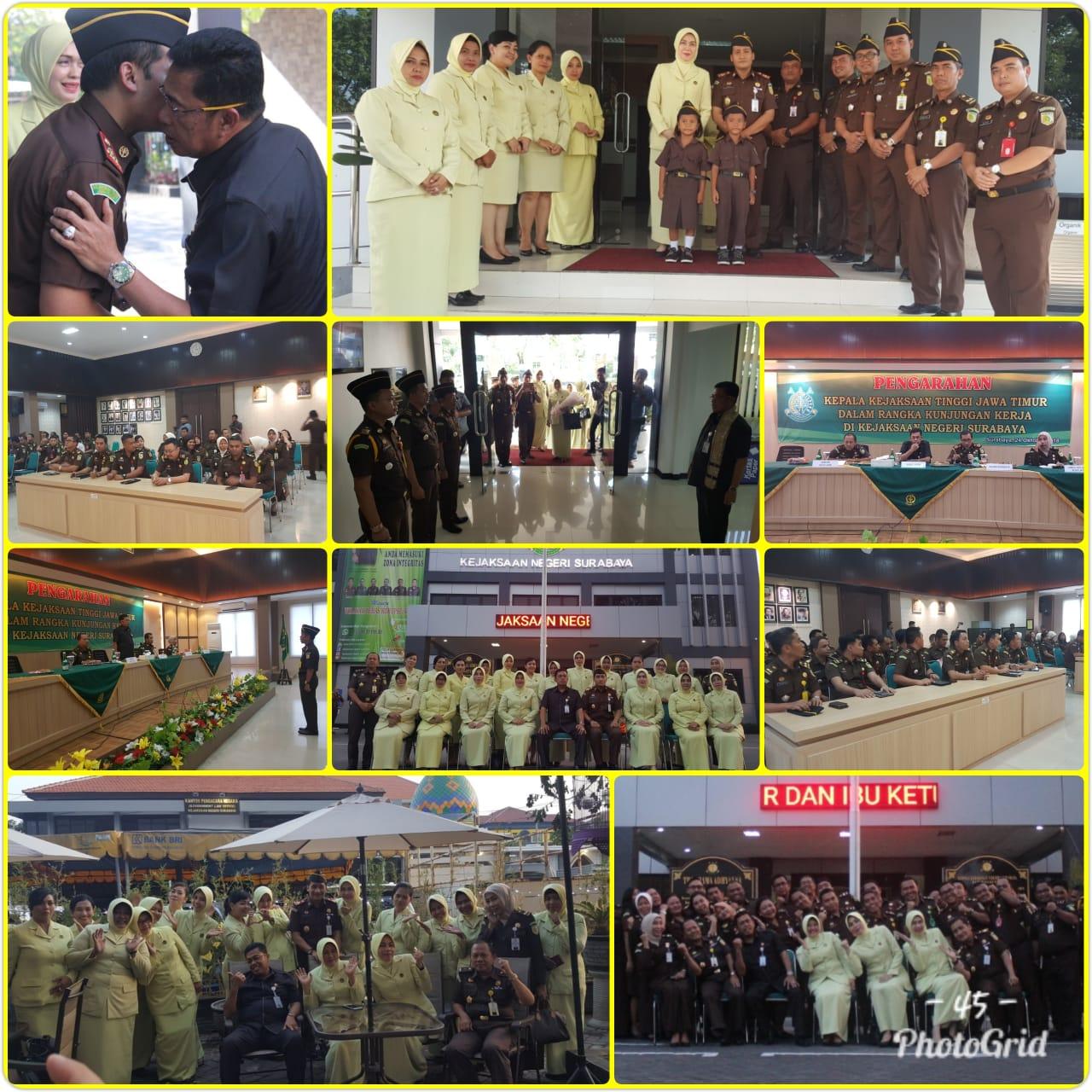 Kunjungan Kepala Kejaksaan Tinggi Jawa Timur 24-10-2018