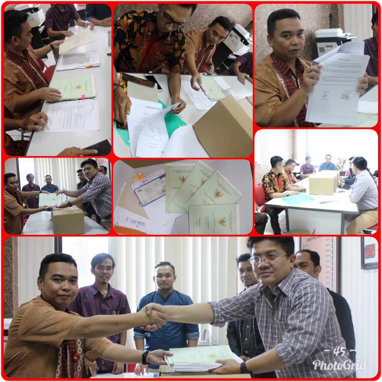 Pengembalian Barang Bukti PT. Bank Pembangunan Daerah Banten 14-09-2018