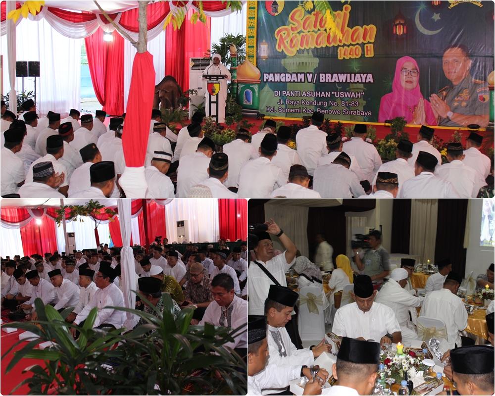 Safari Ramadhan Bersama Pangdam V/ Brawijaya 24-05-2019