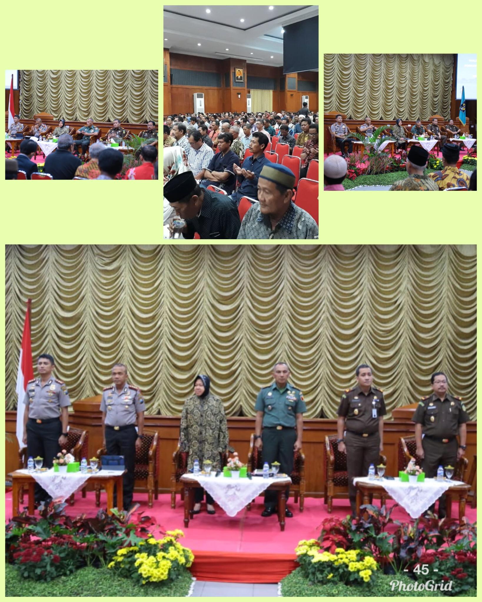 Silaturahmi dengan tokoh masyarakat Kecamatan Tambaksari 05-06-2018
