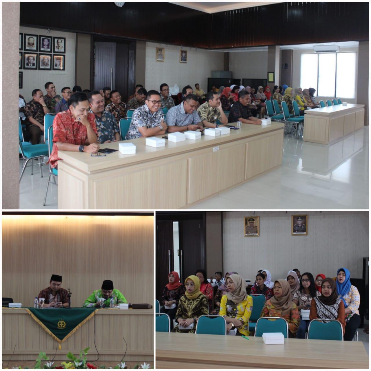 Siraman Rohani Rutin Kejari Surabaya 02-10-2018