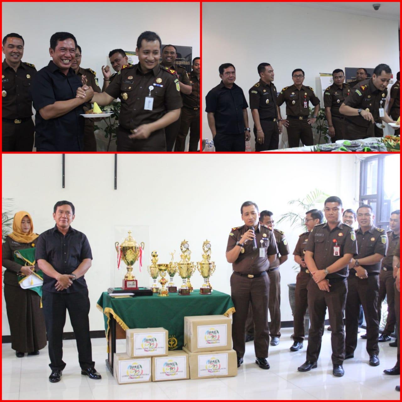 Syukuran Juara Umum Hari Bakti Adhyaksa H.B.A ke-58 24-07-2018