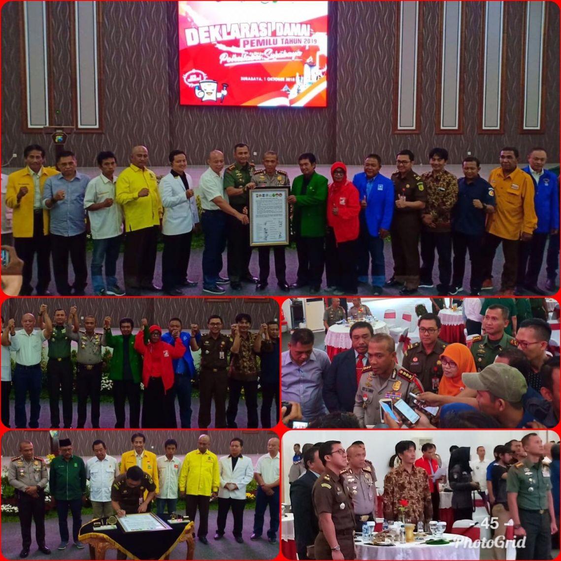 Pengamanan Pemilihan Umum Di Wilayah Surabaya 01-10-2018