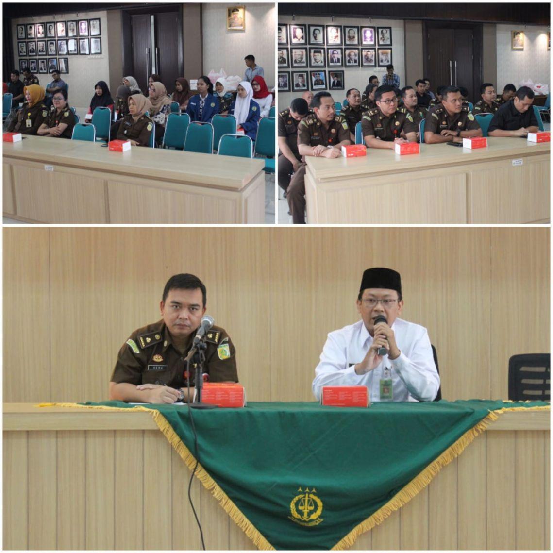 Siraman Rohani Rutin Kejari Surabaya 05-12-2018