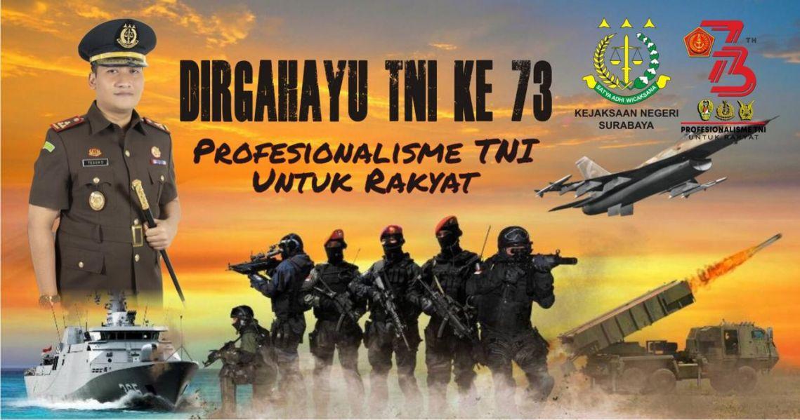 HUT  TNI ke-73