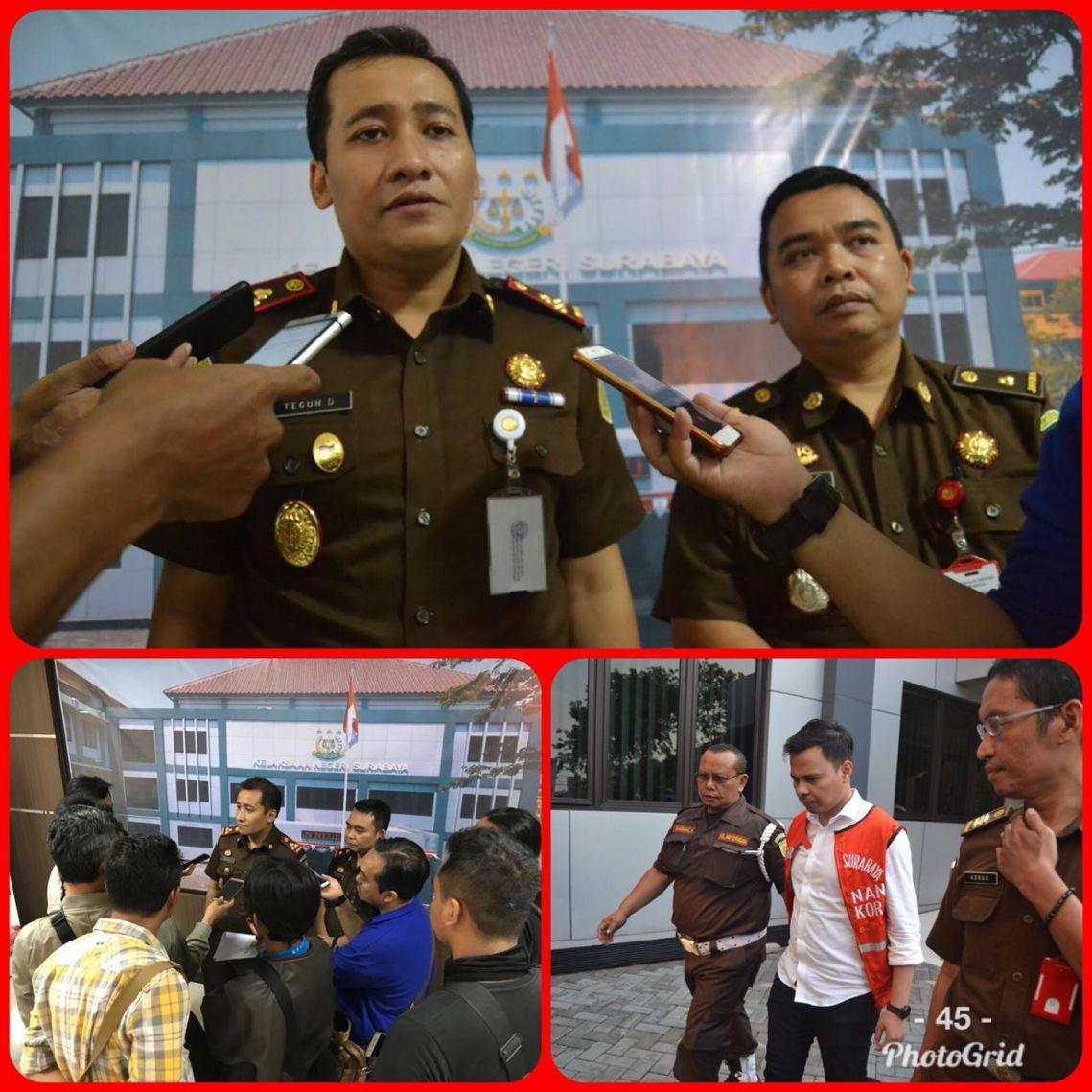 Kejaksaan Negeri Surabaya Tahan Mantan Teller BRI Ambil Uang Nasabah Rp. 1 Milyar 19-09-2018