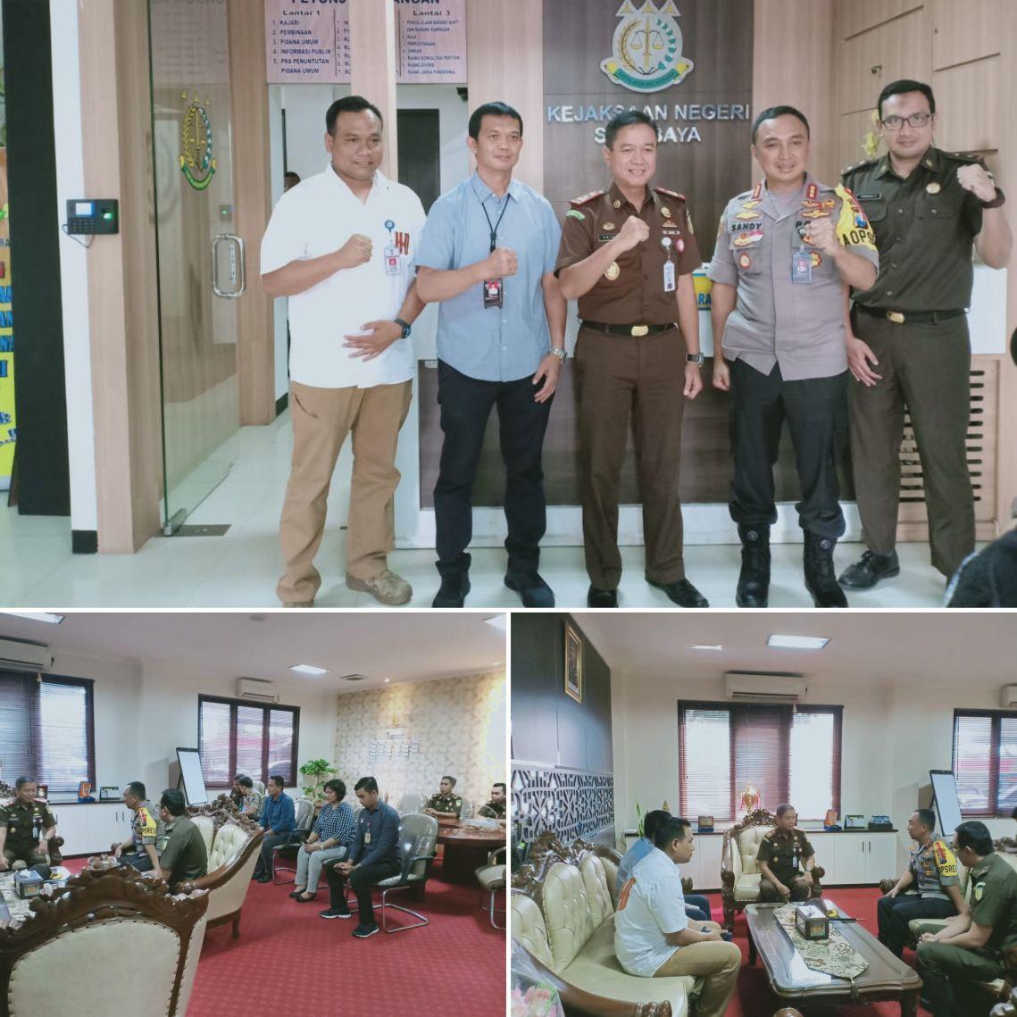 Kunjungan Kapolrestabes Surabaya dan Rombongan 16-05-2019