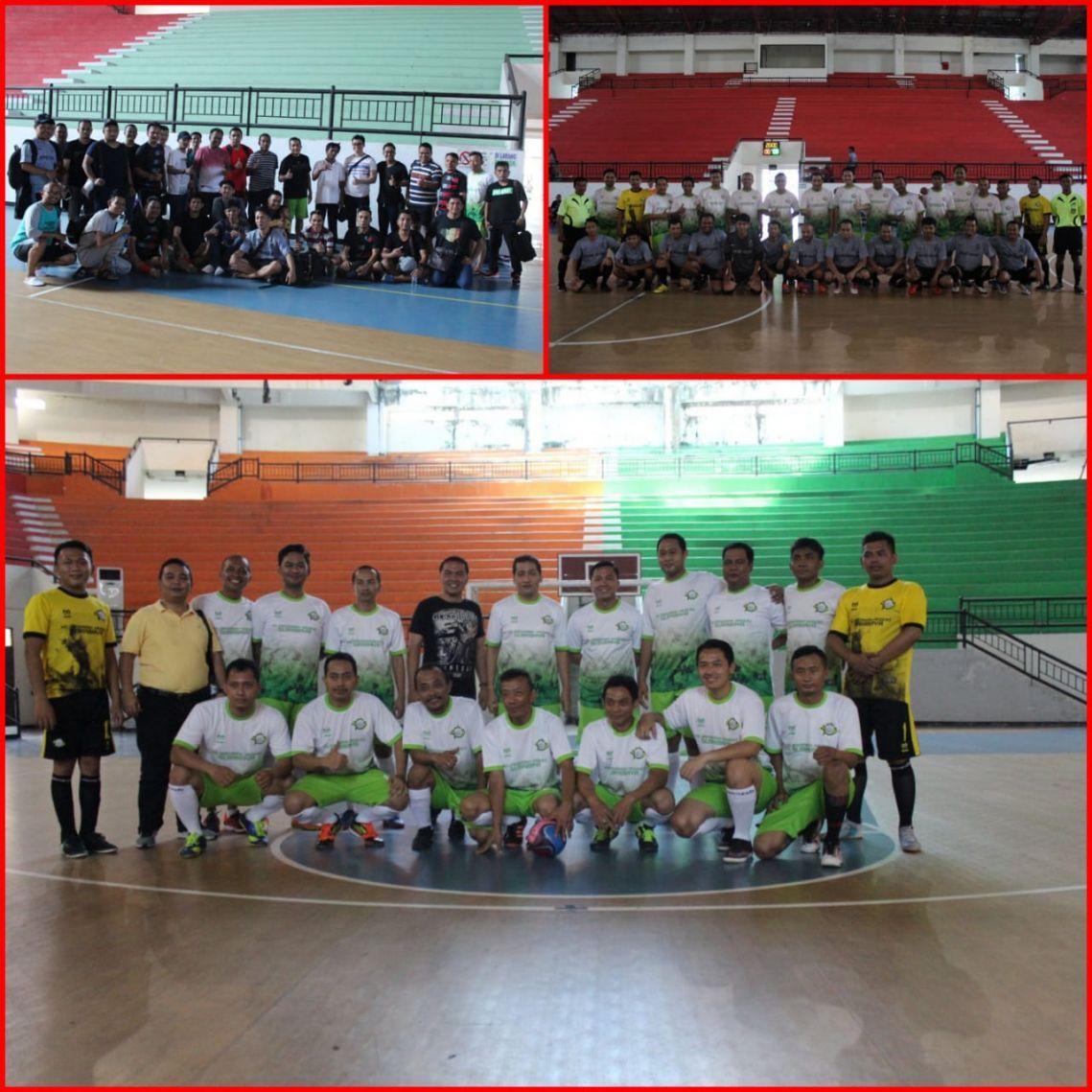 Pertandingan Futsal Persahabatan Kejari Surabaya 07-04-2018