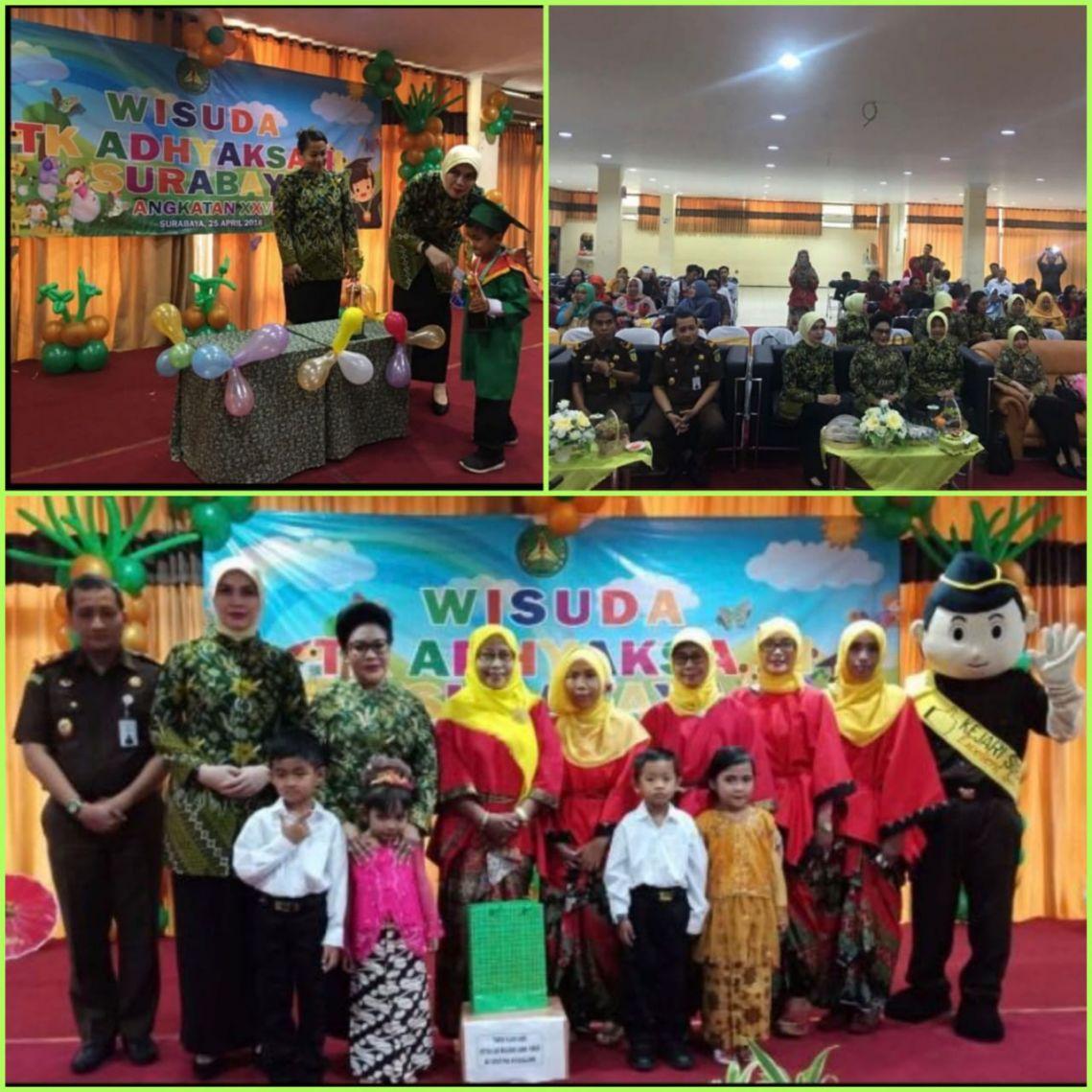 Wisuda TK Adhyaksa Surabaya 25-04-2018