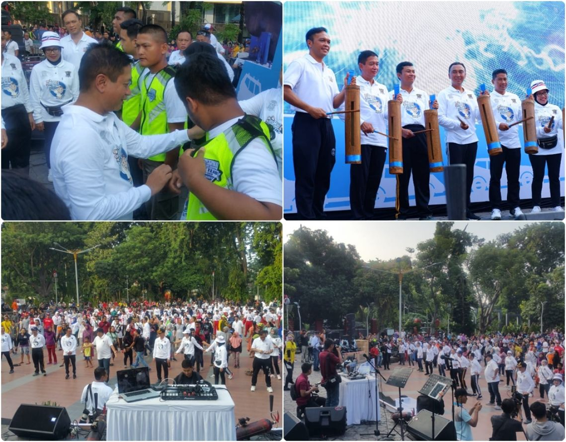 Launching Program Cakap Tertib Berlalu Lintas Cak Tejo 26-01-2020