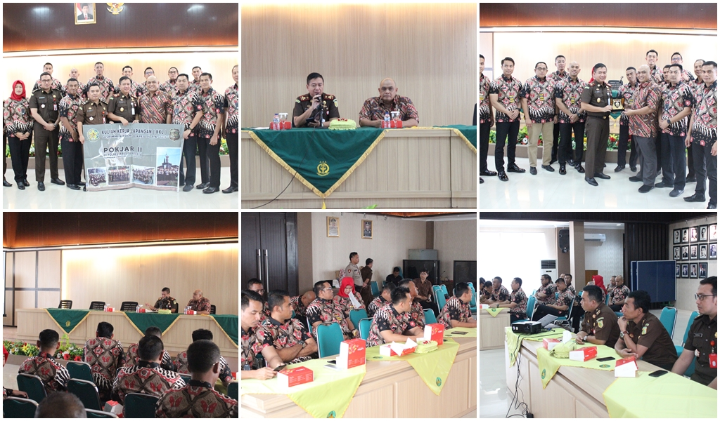 Kunjungan Peserta didik Sespimmen Polri Dikreg ke-59 TA 2019,22-10-2019