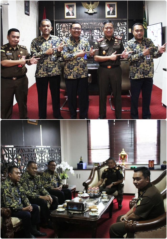 Kunjungan BPS di Kejari Surabaya 27-08-2019