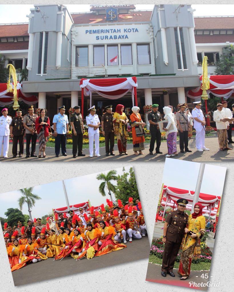 Upacara Hari Jadi Kota Surabaya 31-05-2018